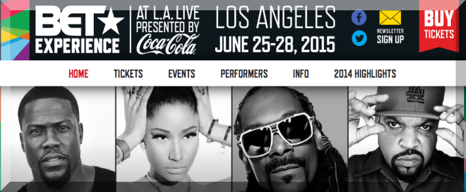 BET EXPERIENCE 2015 DATES TICKETS LINEUP LA LIVE