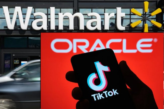 Trump Bless TikTok Oracle Walmart Partnership
