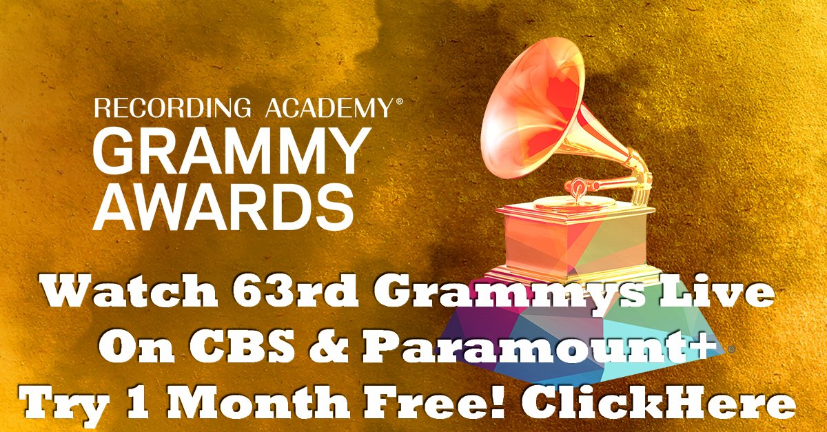 Watch the 63rd Annual GRAMMY Awards® live this Sunday, 314 at 8PM ET5PM PT on CBS & Paramount+. Try 1 month FREE!+2