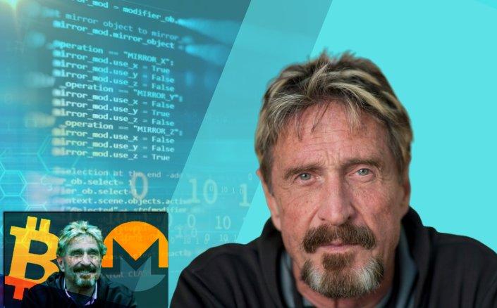 John McAfee Crypto Blockchain Computer Alien